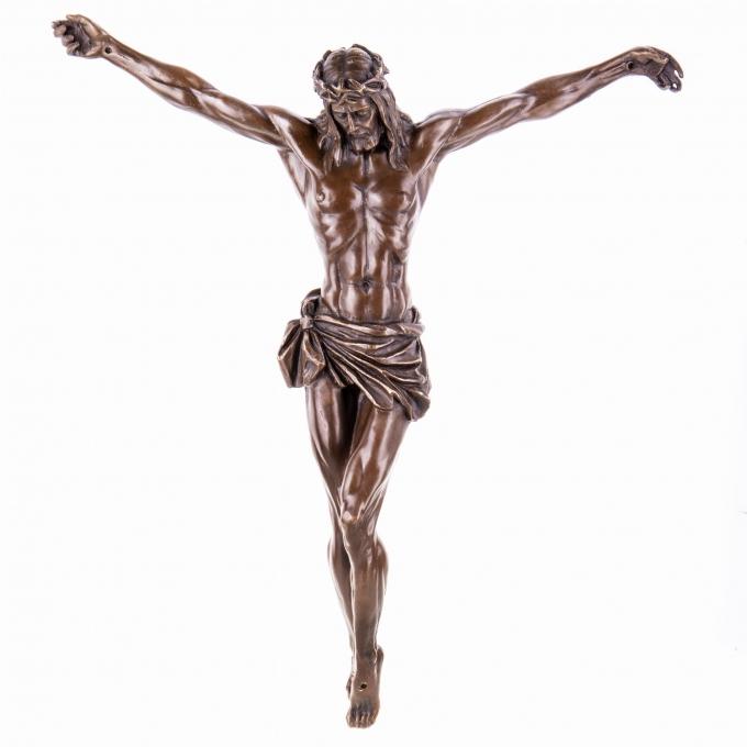 figura-jezusa-rzezba-z-brazu