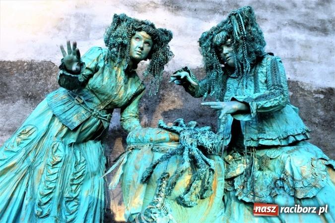 Zdjęcie w galerii na portalu naszraciborz.pl: Street Art Masters - co planują żywe rzeźby rodem z Raciborza? wiadomości z regionu