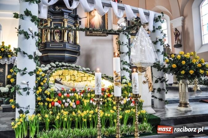 Zdjęcie w galerii na portalu naszraciborz.pl: Groby Pańskie w kościołach Raciborza i okolic  wiadomości z regionu