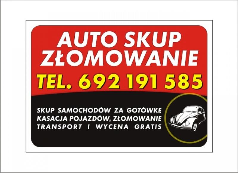 Bardzo dobra Ogłoszenie: Skup aut za gotówkę - Racibórz tel: 692 191 585 - Nasz GI29
