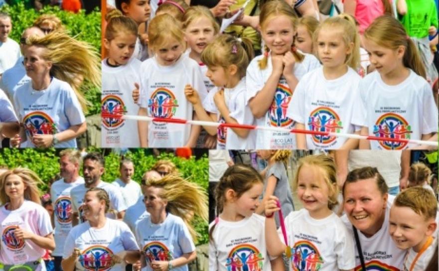 Pół tysiąca dzieci i młodzieży na XI Biegu Profilaktycznym w parku im. Miasta Roth
