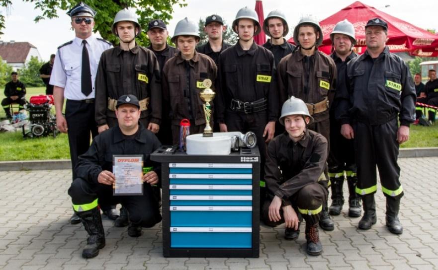 Górki Śląskie wygrały gminne zawody sportowo-pożarnicze w Szymocicach