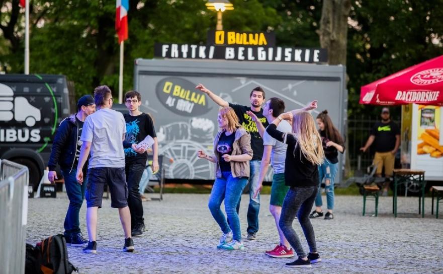 Zlot fanów zespołu The Prodigy na Zamku Piastowskim