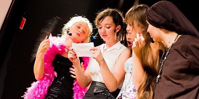 Spektakl Juliet na scenie MDK