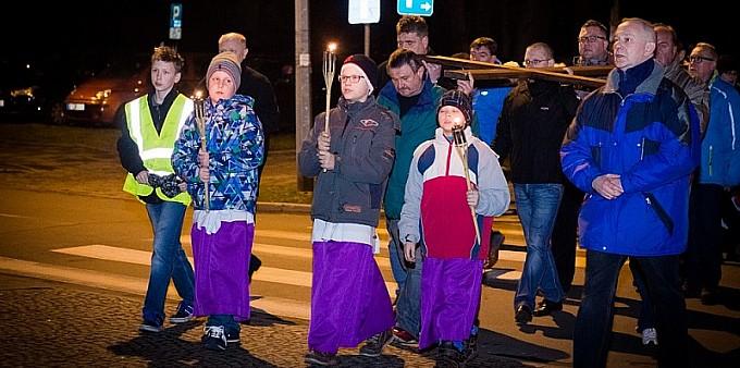 Droga krzyżowa ulicami Raciborza
