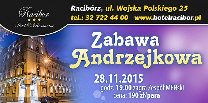 Najlepsze Andrzejki w Hotelu Racibor