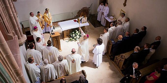 Uroczyste oddanie do użytku kaplicy