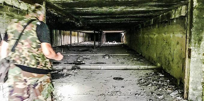 Mroczne miejsce na Ostrogu FOTOGRAFIE