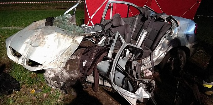 Tragiczny wypadek w Żerdzinach